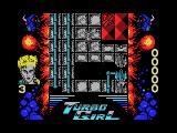 Turbo Girl MSX Falling rocks