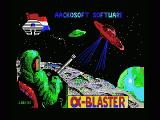 Alpha Blaster MSX Title and loading screen