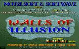 Walls of Illusion Atari ST Title Screen