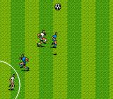 Konami Hyper Soccer NES Use your head to pass the ball