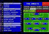 Sensible Soccer: European Champions: 92/93 Edition Genesis Roster