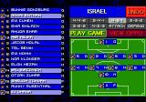 Sensible Soccer: European Champions: 92/93 Edition Genesis The names of the players are altered.