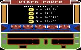 Las Vegas Video Poker Commodore 64 What coin value do you want to use?