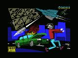 Race City MSX Loading screen
