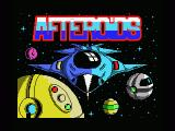 Afteroids MSX Title screen
