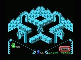 Alien 8 MSX Obstacles are blocking your way