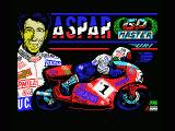 Grand Prix Master MSX Title screen