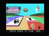 Bounder MSX Title screen