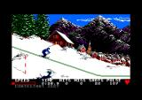Winter Games Amstrad CPC Some cross country skiing...