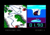 Winter Games Amstrad CPC The bobsled