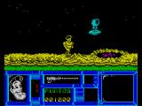 Freddy Hardest ZX Spectrum Avoid the blue thing and the volcano