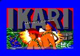 Ikari Warriors Amstrad CPC Loading screen
