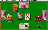 Hoyle: Official Book of Games - Volume 1 Atari ST A game of Crazy Eights has just begun.