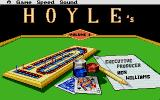 Hoyle: Official Book of Games - Volume 1 Atari ST Title Screen
