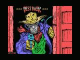 West Bank ZX Spectrum Load screen of alternative title