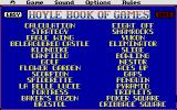 Hoyle: Official Book of Games - Volume 2: Solitaire Atari ST What game will it be?