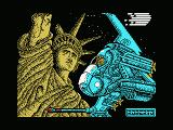 Meganova MSX Loading screen