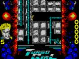 Turbo Girl ZX Spectrum A thin line to ride across here