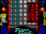 Turbo Girl ZX Spectrum Shooting them out