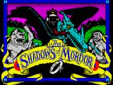 The Shadows of Mordor ZX Spectrum Loading screen