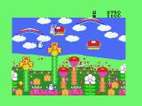 Fantasy Zone II MSX Don't fly into the flowers