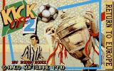 Kick Off 2: Return To Europe Atari ST Title Screen