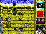 Black Beard ZX Spectrum Game start