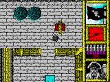 Black Beard ZX Spectrum Moving through the screens