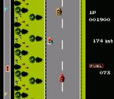 Road Fighter NES Get the fuel item or you might run out of fuel