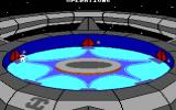 Starflight DOS The space station where you do all the maintenance. (EGA/Tandy)