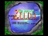 Zelda Classic Windows Title screen