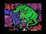 MOT MSX Title screen