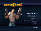 Serious Sam II Windows Main Menu