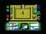 Avenger MSX Defeated an enemy and picked up all items in the room
