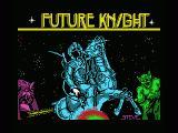 Future Knight MSX Loading screen