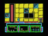 Future Knight MSX Shoot the hostile aliens