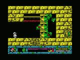 Jack the Nipper... II in Coconut Capers MSX Pick up the green items