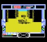 After Burner MSX Stage 17 is quite a labyrinth