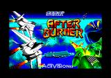 After Burner Amstrad CPC Loading screen