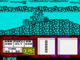 African Trail Simulator ZX Spectrum An uphill struggle