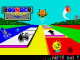 Bounder ZX Spectrum Title screen