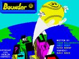 Bounder ZX Spectrum Loading screen