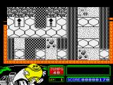 Bounder ZX Spectrum Didn't land on the hexagons this time