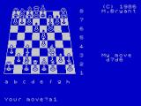 Colossus Chess 4 ZX Spectrum Mostly pawns moved so far