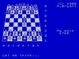 Colossus Chess 4 ZX Spectrum The opening moves