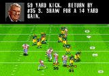 Madden NFL 98 Genesis The kickoff received