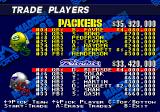 Madden NFL 98 Genesis Player trading