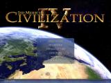 Sid Meier's Civilization IV Windows The Civ 4 Main Menu screen