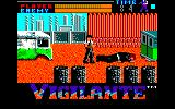 Vigilante Amstrad CPC Boss defeated