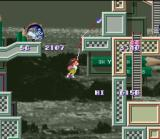 Umihara Kawase SNES Your fishing rod is your main way of navigating levels.